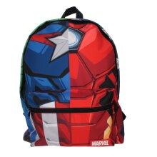 Marvel Avengers Quad Hero Torso Roxy Black Children's Backpack