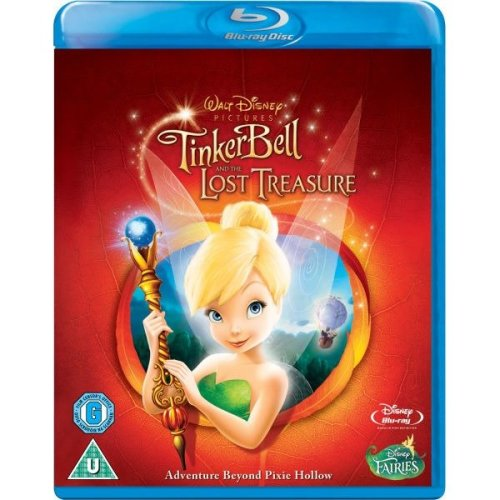 Tinker Bell And The Lost Treasure Blu-Ray [2011]