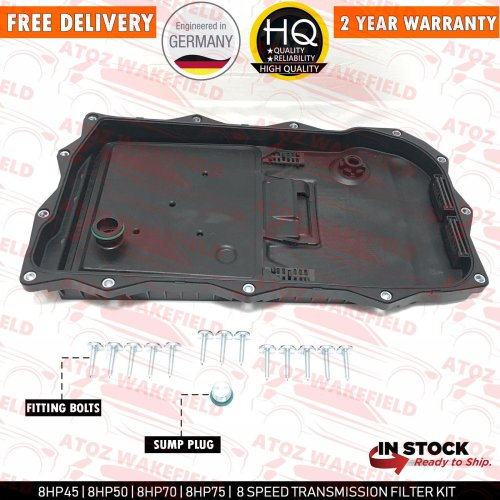 FOR JAGUAR 8 SPEED AUTOMATIC TRANSMISSION GEARBOX SUMP PAN SEAL FILTER JDE36541