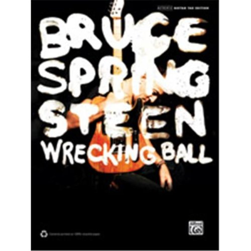 Alfred 00-39365 BRUCE SPRINGSTEEN WRECK BALL GTAB