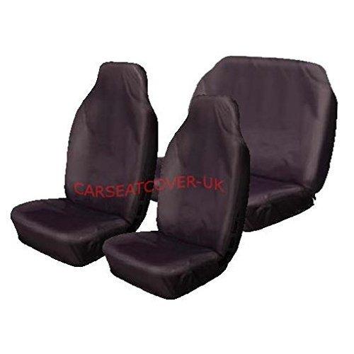 Van Single Front Seat Cover Universal  UK Made Maroon Waterproof Car