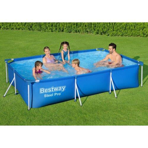 Bestway Steel Pro Swimming Pool Garden Outdoor Backyard Summer Frame Pool