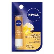 Nivea Lip Care Vanilla Butter Cream 0.17 Ounce Carded (6 Pieces)