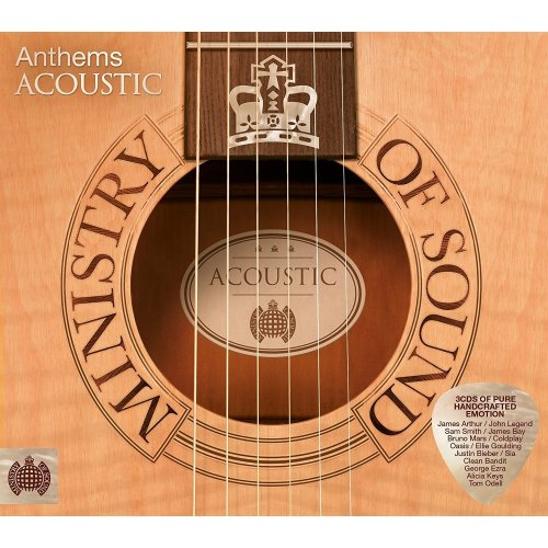 Various Artists - Anthems Acoustic (Ministy of Sound) [3 CDs]