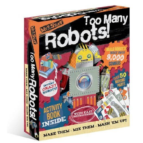 My Stuff: Too Many Robots! (Build and Invent Activity Set)