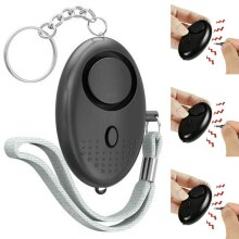 Police Approved Personal Panic Rape Attack Keyring Safety Security Loud Alarms