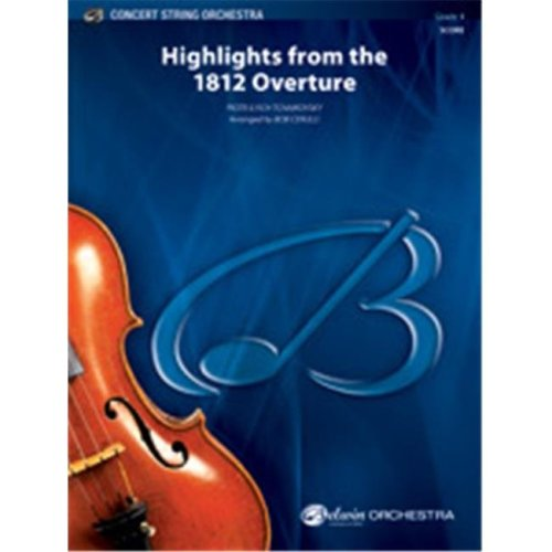 Alfred 00-38419 HIGHLIGHTS 1812 OVERTURE-BCS