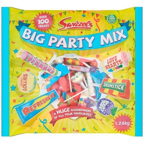 Swizzels Big Party Mix, 1.26 kg