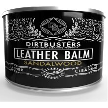 Dirtbusters leather balm cleaner and conditioner sandalwood 150g