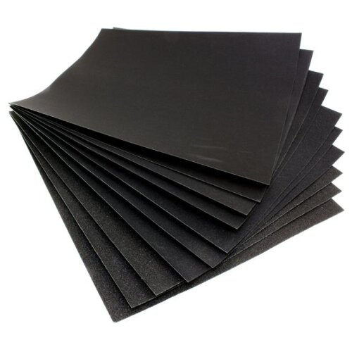 Waterproof Sheets Of Wet & Dry Sandpaper Paper 120 Grit Grade - p120