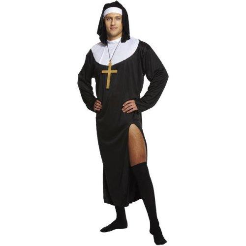 Adult Male Nun Costume