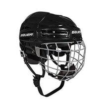 Bauer IMS 5.0 Helmet Combo, Black, Small