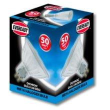 10x Eveready Dichroic MR16 Halogen Lamp 50W (GU5.3 Base) 12V 38DEG BEAM