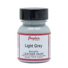 Angelus Acrylic Leather Paint 1 fl oz/30ml Bottle. Light Grey 082