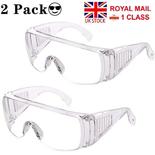 Safety Goggles Protective Virus Glasses Eye Protection Anti-Virus,Anti-Splash, Reusable