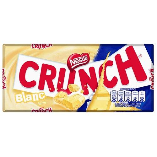 Nestlé Crunch White Chocolate 20 bars in box fast post 100g