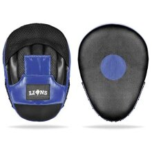 Mesh Blue Focus Pads Hook & Jabs Gloves Punch Bag Mitts Boxing MMA