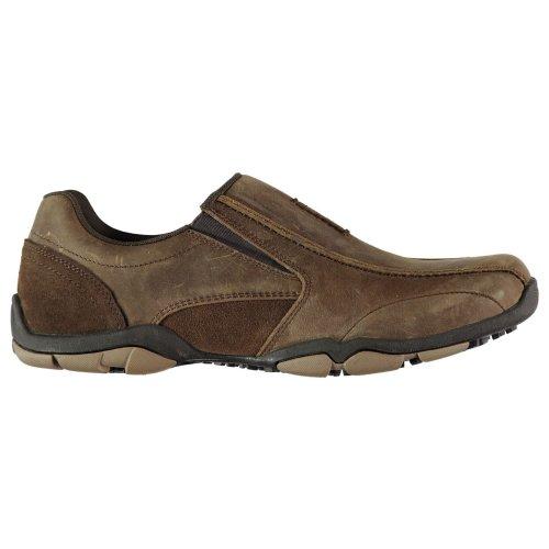 Kangol Vine Slip On Mens Trainers Shoes Brown Casual Footwear Sneakers