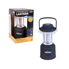 Black Ultra Bright 12 LED Mini Lantern H19.5 x W8 x D8cm