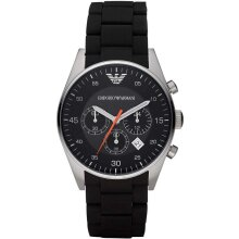 Emporio Armani AR5858 Men's Watch Chronograph, New with Tags