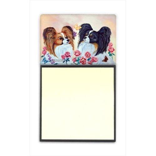 Papillon Refiillable Sticky Note Holder or Postit Note Dispenser, 3 x 3 In.