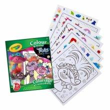 Crayola Color & Sticker Book - Trolls World Tour