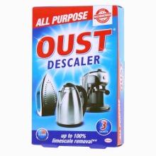 OUST All Purpose Descaler Kettle Steam Iron Coffee Machine 25ml Sachets x 3
