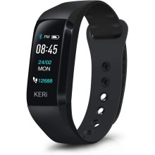 Activity Tracker with Heart Rate Monitor Blood Pressure Sleep Monitor Step Calorie Counter Supported 13 languages, IP67 Waterproof Smartwatch