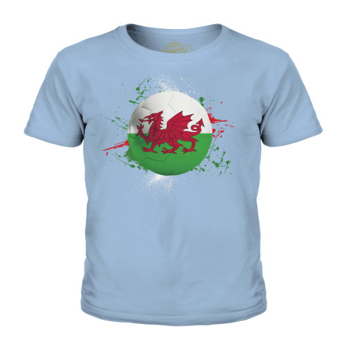 Candymix - Wales Football - Unisex Kid's T-Shirt