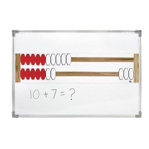 SI Manufacturing 1571842 Rekenrek Magnetic Demo, 2 Bars