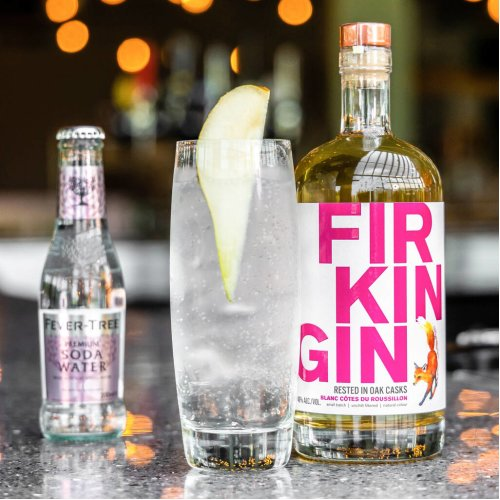 Firkin Gin White Wine Cask, Cotes Du Roussillon, 70cl