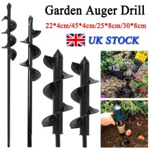 Garden Auger Drill Bit Fence Borer For Garden Planting Post Hole Digger Tools