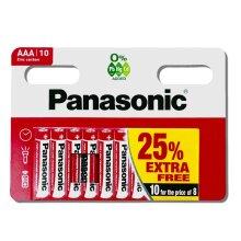 Genuine PANASONIC AA Zinc Carbon Batteries - New 1.5V Expiry 2024