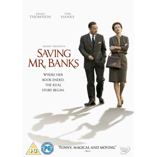 Saving Mr Banks DVD [2014]