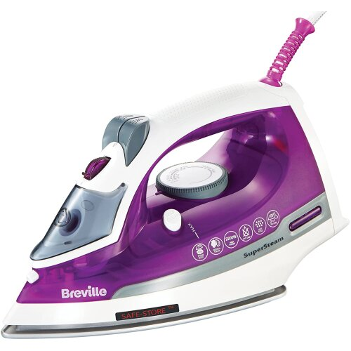 Breville VIN383 Super Steam Iron, 2200 W, Purple