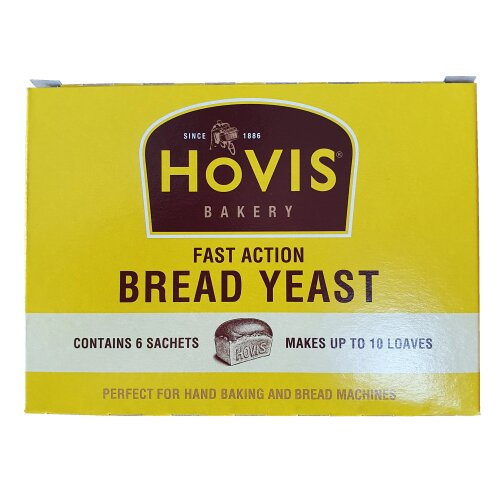 Hovis Bakery Fast Action Bread Yeast - 6 Sachets