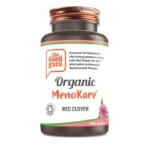 Organic MenoKare Red Clover Supplement, No Added Sugar, Gluten-free