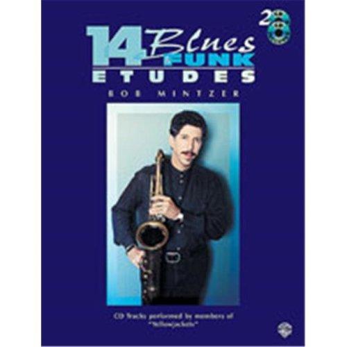 Alfred 00-EL9604CD 14 BLUES & FUNK ETUDES C IN-BK&CD