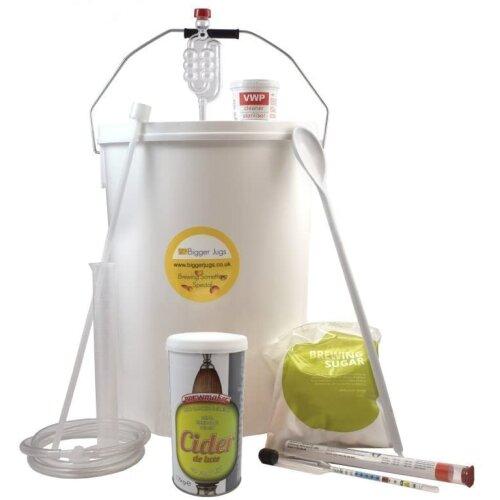 Starter Cider Making Set - Brewmaker Cider Deluxe (40 Pint) with Equipment - Homebrew