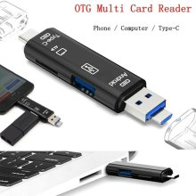 Micro SD USB TF Type C USB 2.0 Adapter Card Reader