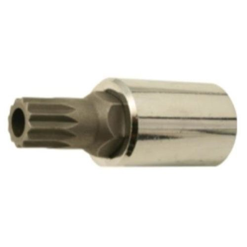 14 mm. 12 Point Tamper Socket Bit