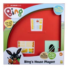 Bing House Playset With Bing And Flop Play Figures Multicolour