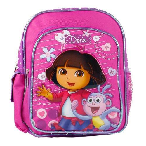 "Mini Backpack - Dora the Explorer - Boots on Stroll 10"" New 639815"