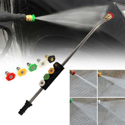 Pressure Jet Lance Spray Wand 2600PSI 5 Nozzle Tips for Karcher K1-K7