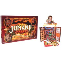 JUMANJI The Board Game | A Game For Those Who Seek To Find... A Way To Leave Their World Behind | Large Family Board Game |