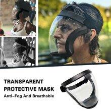 Face Shield Mask Anti-Fog Face Visor Safety Protector Active Shield
