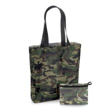 BagBase Reusuable Packaway Foldable Water Resistant Tote Shopping Shopper Bag