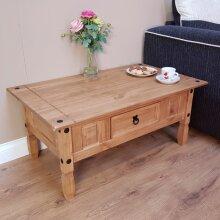 Corona Coffee Table Lamp Solid Wood Pine Furniture