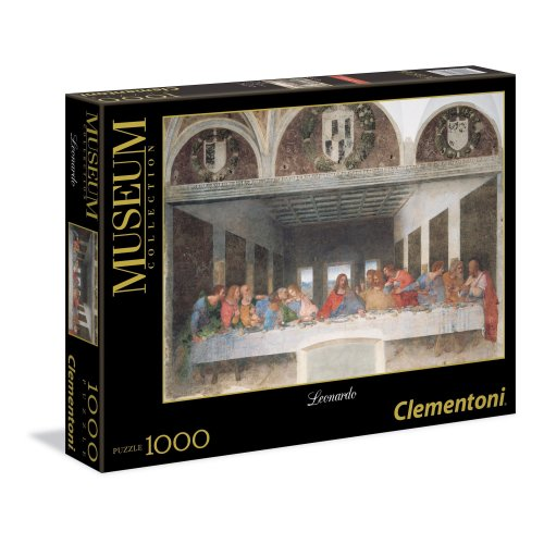 Clementoni - 31447 - Museum Collection - Leonardo: The Last Supper - 1000 Pieces
