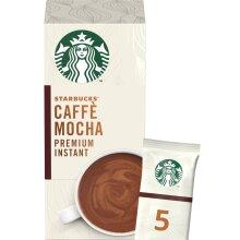 STARBUCKS Mocha Instant Coffee 5 Sachets, 110g